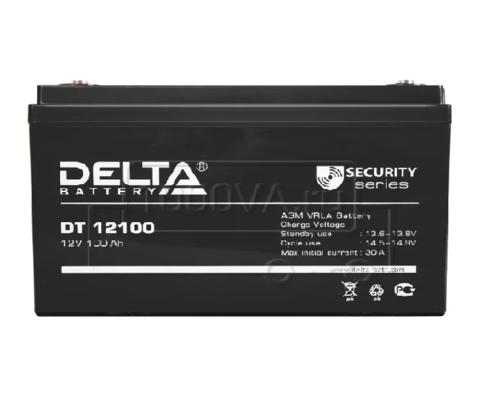 Аккумуляторная батарея Delta DT 12100  100 А*ч 12 В