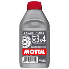 Тормозная жидкость DOT 3 & 4 Brake Fluid синтетическое (1л) Motul