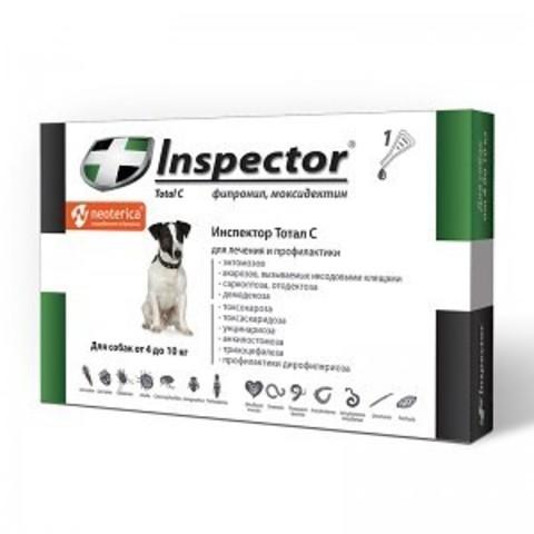 INSPEСTOR (Инспектор) для собак 4-10 кг   1 пип.