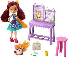 Кукла Enchantimals Художественная студия