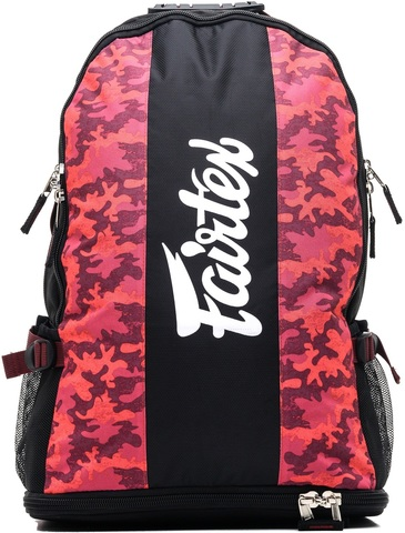 Рюкзак Fairtex Backpack BAG4 Red Camo
