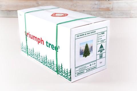 Искусственная елка Триумф Норд стройная 215 см зеленая
