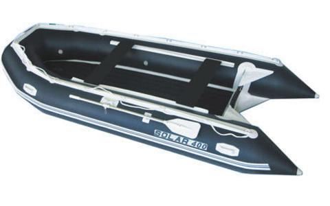 Лодка надувная моторная SOLAR 400 малокилевая