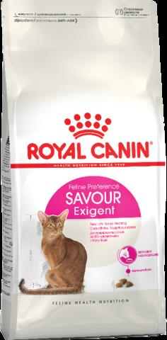 Royal Canin Savour Exigent для кошек привередливых ко вкусу продукта