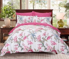 Сатиновое постельное бельё  2 спальное  В-184