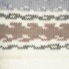 Пряжа YarnArt Crazy Color 145  (Серый, белый, беж)