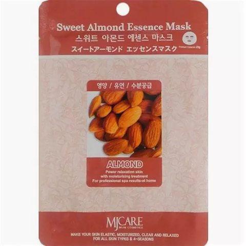 Тканевая маска для лица сладкий миндаль MIJIN Care Mask