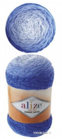 Alize Softy Plus ombre batik 7282