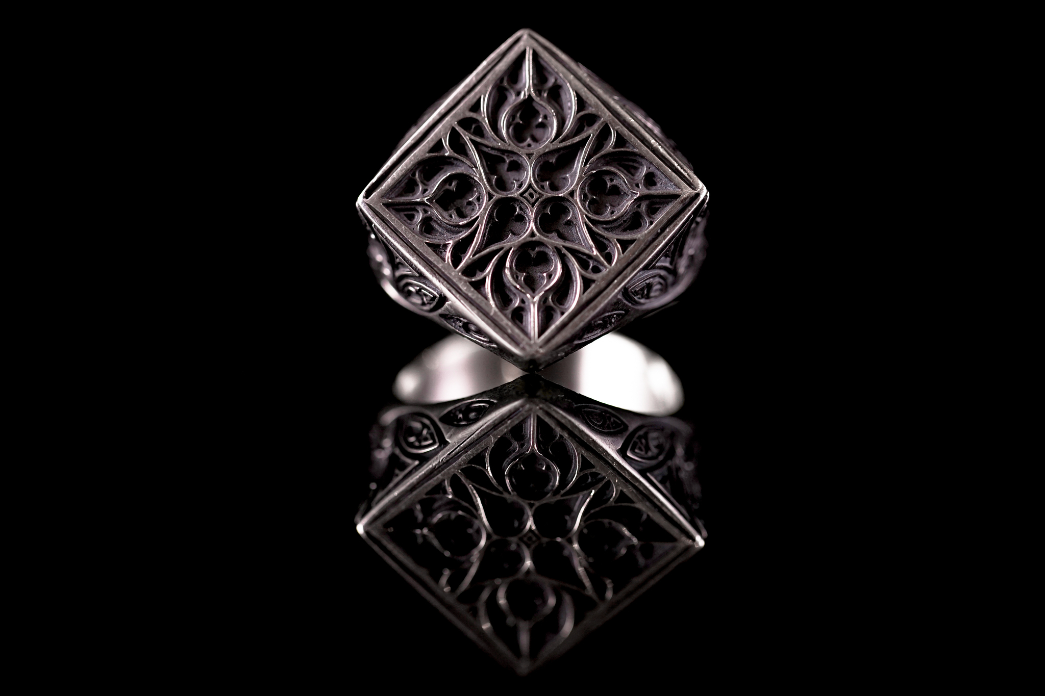Перстень с Классическим узором