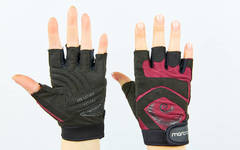 Перчатки для фитнеса женские MARATON  S-M цвета в ассортименте