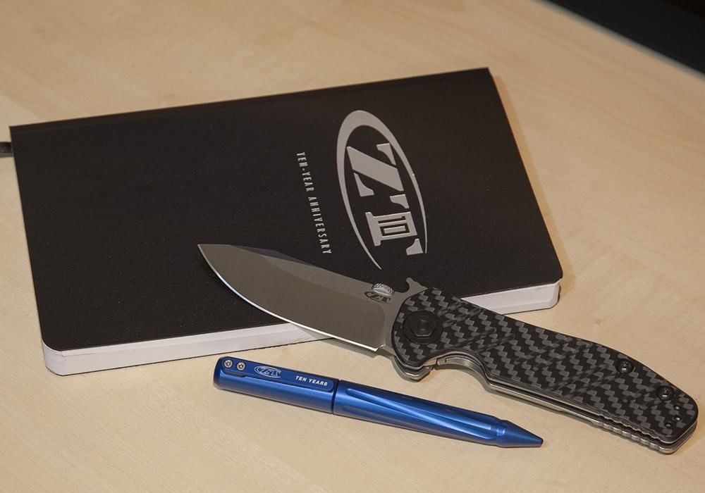 Тактическая ручка Zero Tolerance 0010 ZT 10th Anniversary Pen - фотография