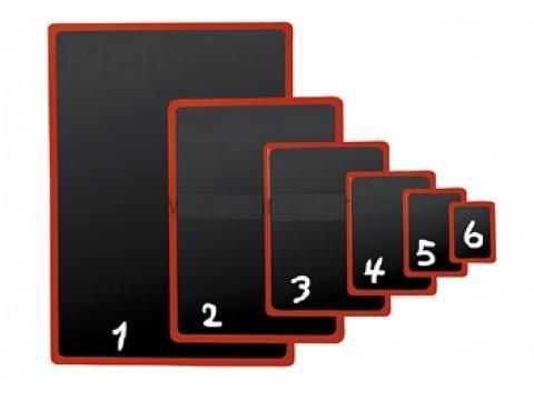 Черная табличка для нанесения надписей BB A3