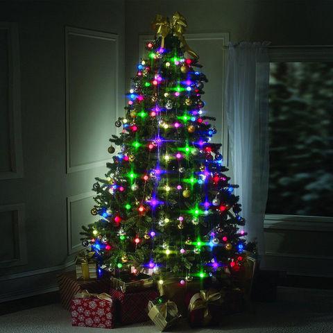 Гирлянда новогодняя на елку 64 led светодиода