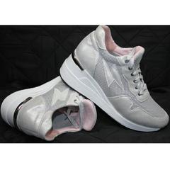 Туфли под кроссовки Topas 4C-8045 Silver.