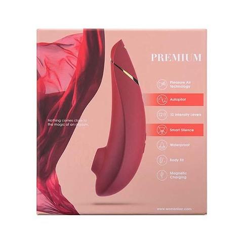 Womanizer Premium красный/золотой