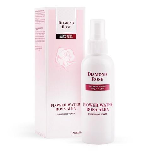 Освежающая Роз. вода - тоник Белая Роза Diamond 150 мл