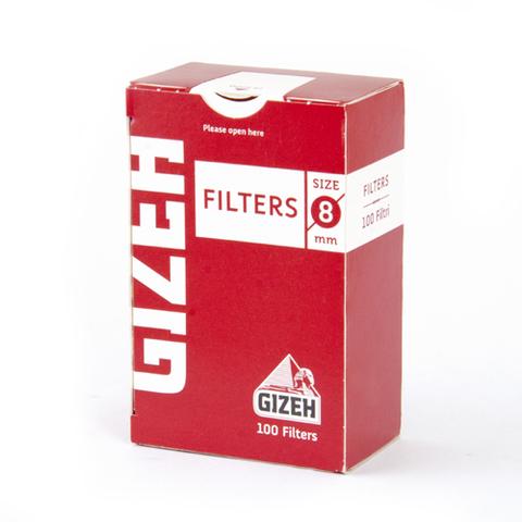 Фильтры для самокруток GIZEH Д/САМОКРУТОК пач/100 НК