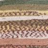 Пряжа YarnArt Crazy Color 159  (Белый, беж,шоколад,хаки)