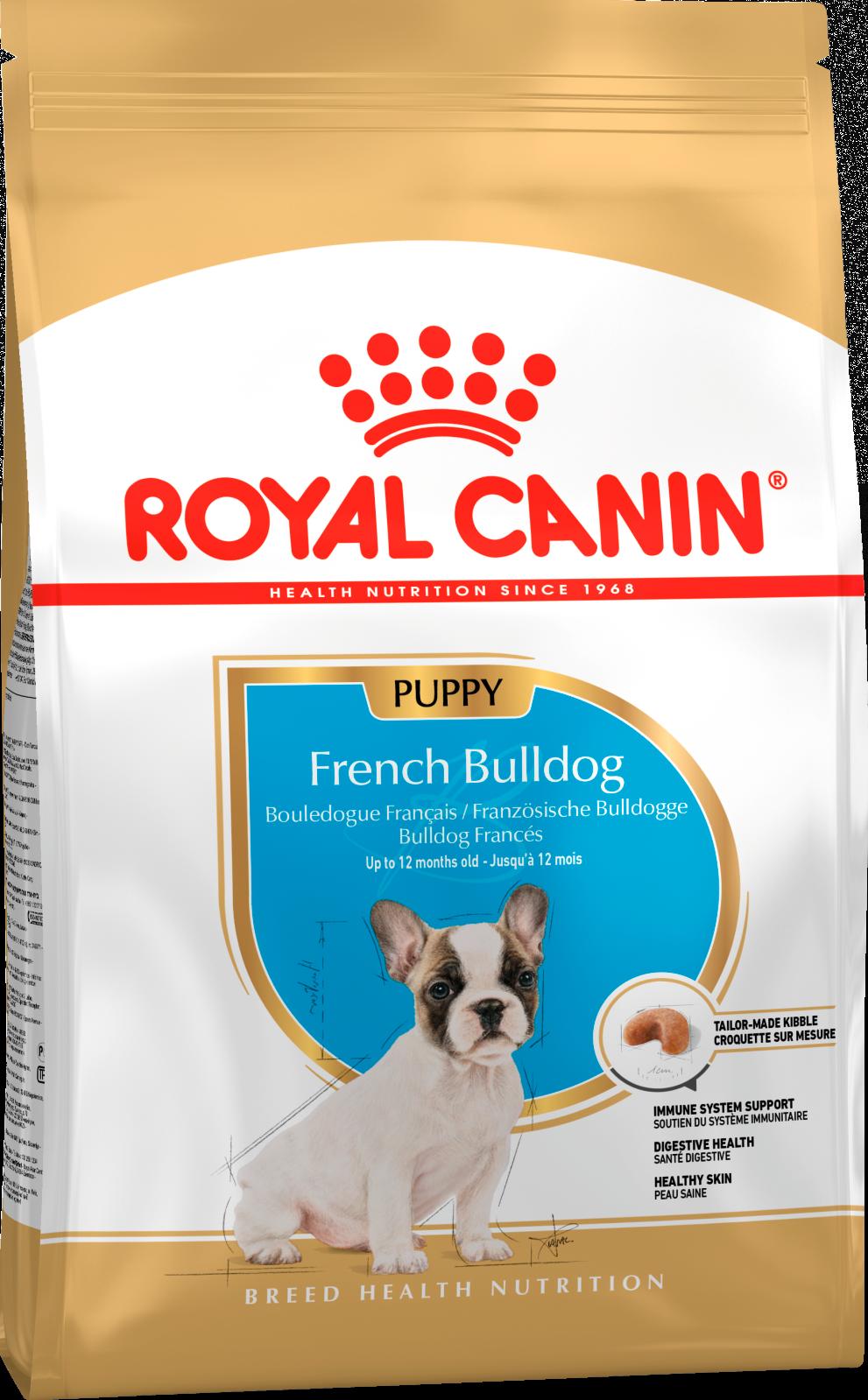 Royal Canin Корм для щенков собак породы французский бульдог, Royal Canin French Bulldog Puppy 181030.png
