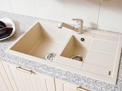 Мойка кухонная Blanco Metra 6S Compact Шампань