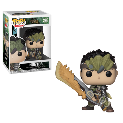 Фигурка Funko POP! Vinyl: Games: Monster Hunter  S1:  Hunter Male Rathalos Armor 27344