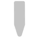 "Чехол ""Faster Ironing"" 124х45см (С), 2 мм поролона, Металлик, артикул 136702, производитель - Brabantia"