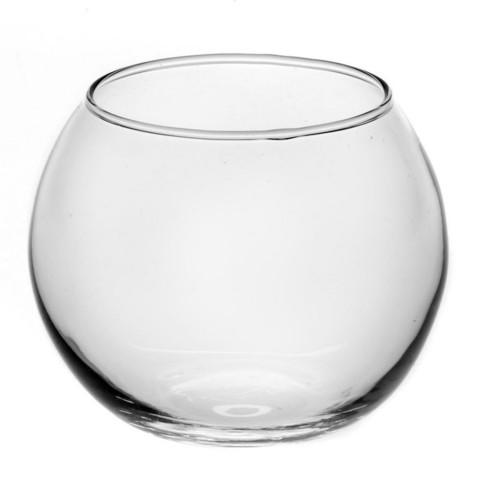 Ваза Флора стекло прозрачная высота изделия 10.25 см