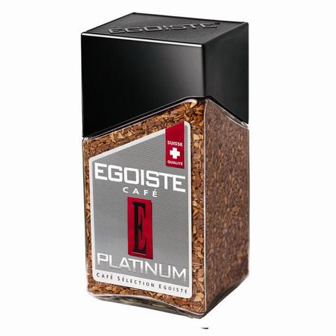 Кофе растворимый Egoiste Platinum 100 г (стекло)