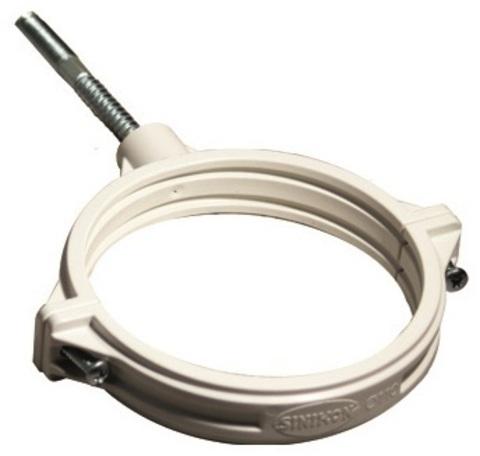 Sinikon Comfort хомут 50 мм шумопоглощающий со шпилькой и дюбелем (KPP.050.K.D)