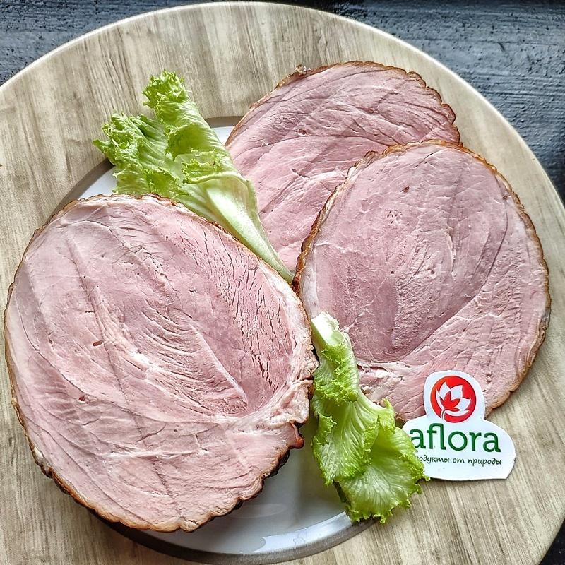 Фотография Окорок свиной су-вид / 400 гр купить в магазине Афлора