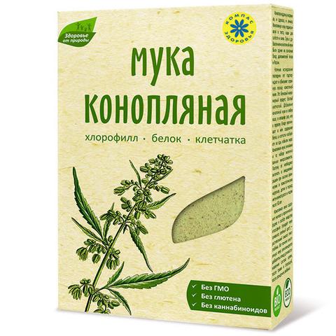 Мука конопляная, Компас Здоровья, 200 г