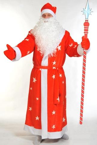 Костюм Дед Мороз Красный взрослый
