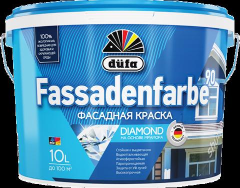 Dufa Fassadenfarbe RD 90/Дюфа Фасаденфарбе РД 90 Акриловая фасадная краска