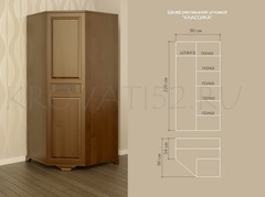 Одностворчатые и угловые шкафы (в ассортименте)