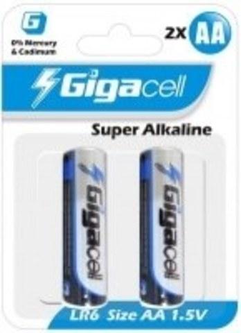 Батарейка Gigacell LR6-2 (2шт)