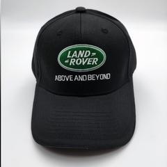 Кепка с логотипом  Land Rover (Бейсболка Ленд Ровер) черная 01