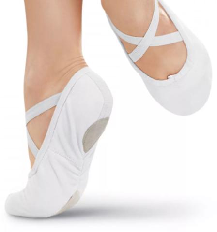 Балетки гимнастические белые (ТРК ГагаринПарк)