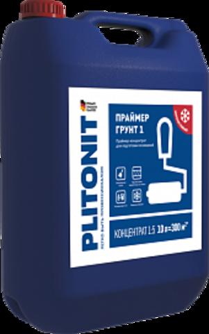 ПЛИТОНИТ ГРУНТ 1 Праймер-концентрат для внутренних и наружных работ