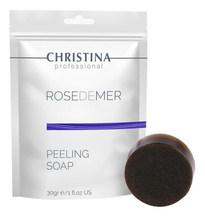 Christina Rose De Mer: Пилинговое мыло для лица (Rose de Mer Peeling Soap), 30г