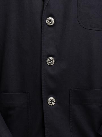 Мужской пиджак чёрного цвета
