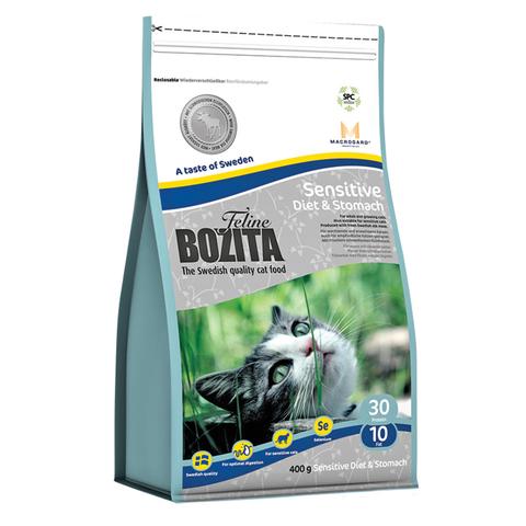 Bozita Sensitive Diet & Stomach Grain Free Сухой корм для кошек с чувствительным пищеварением с мясом лося (беззерновой)