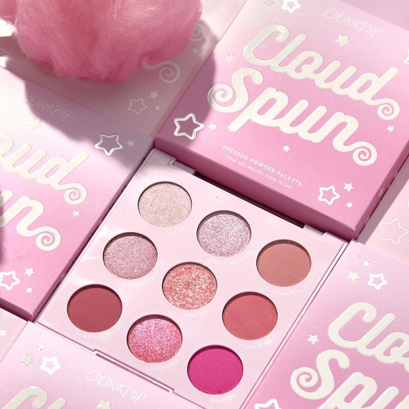 ColourPop Cloud Spun shadow palette