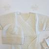 Комплект для недоношенных и маловесных детей Распашонка/шапочка/рукавички