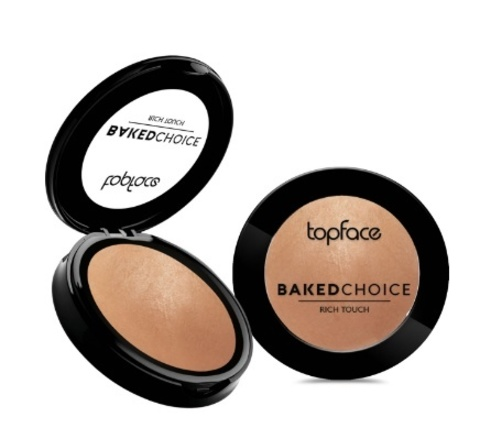 Topface Румяна Baked Choice Rich Touch  Blush On  тон 001- РТ703 (5г)