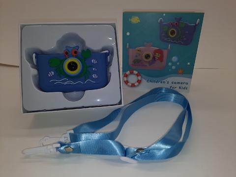 Детский фотоаппарат Крабик