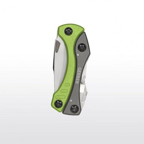 Мультитул Gerber Outdoor Crucial Tool, зеленый, блистер, 31-000238