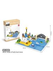 Конструктор Wisehawk Сиднейская Гавань 529 деталей NO. 2583 Sydney Harbour Gift Series