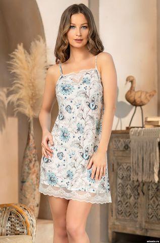 Короткая ночная сорочка из вискозы Mia Amore