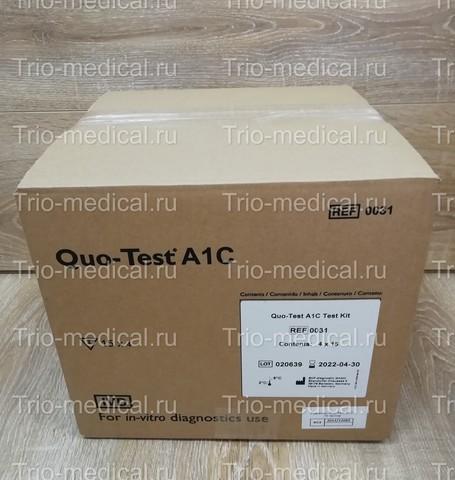 Набор тестов гликозилированный гемоглобин Quo-Test