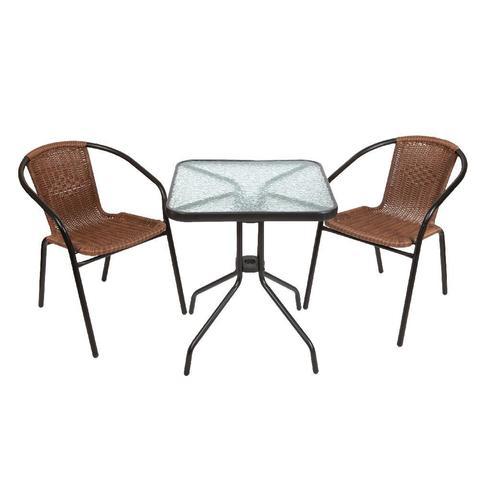Комплект кофейный Bistro (стол и 2 кресла), 220021+220020